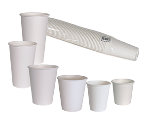 Hot Cups White