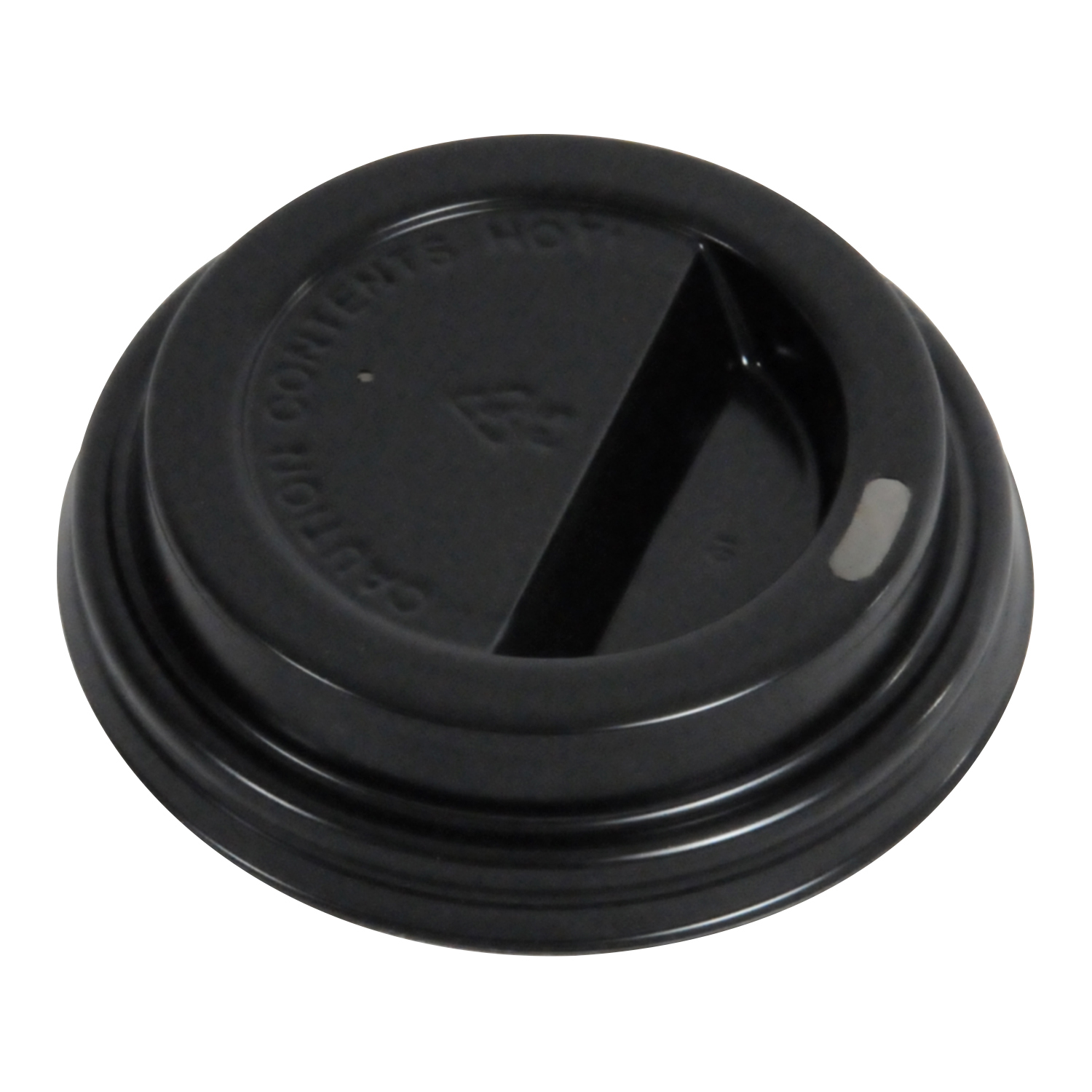 80mm Dome Lid Black