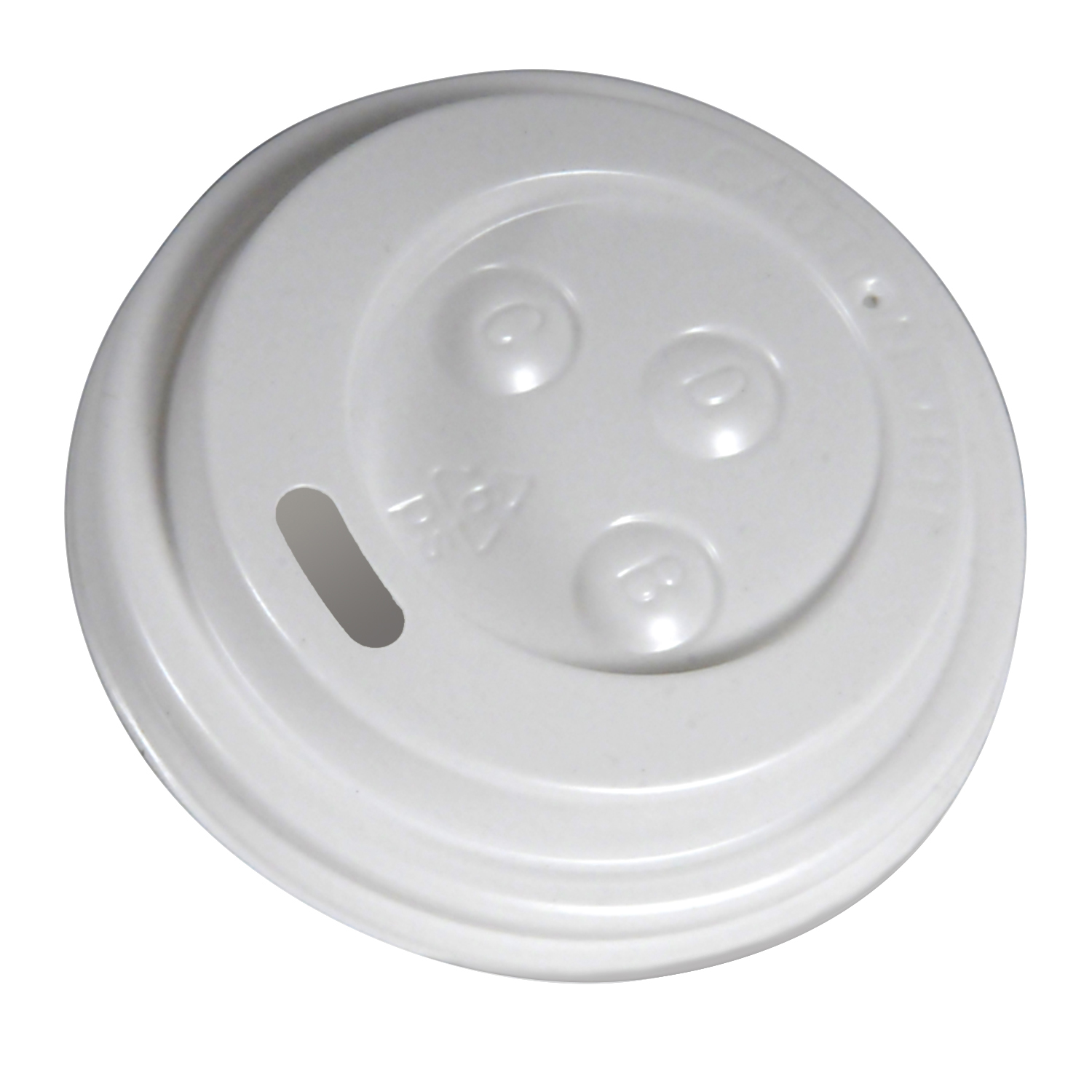 4oz Dome Lid White
