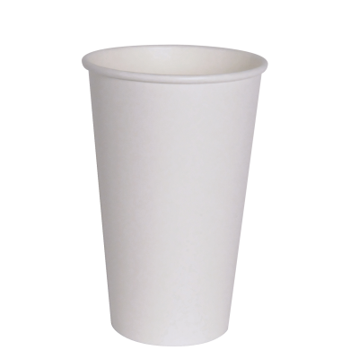 WHITE HOT CUP 16OZ
