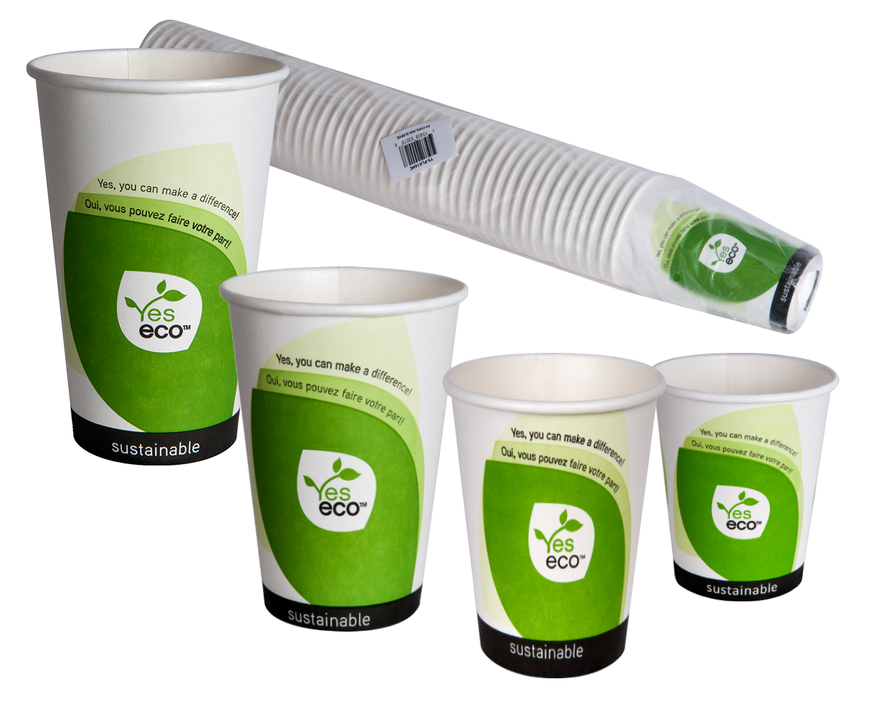 BPI Certified YesEco Hot Cups