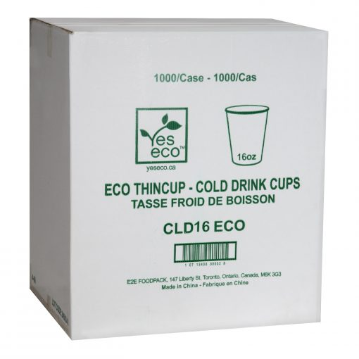 YesEco Sustainable and Compostable Cup