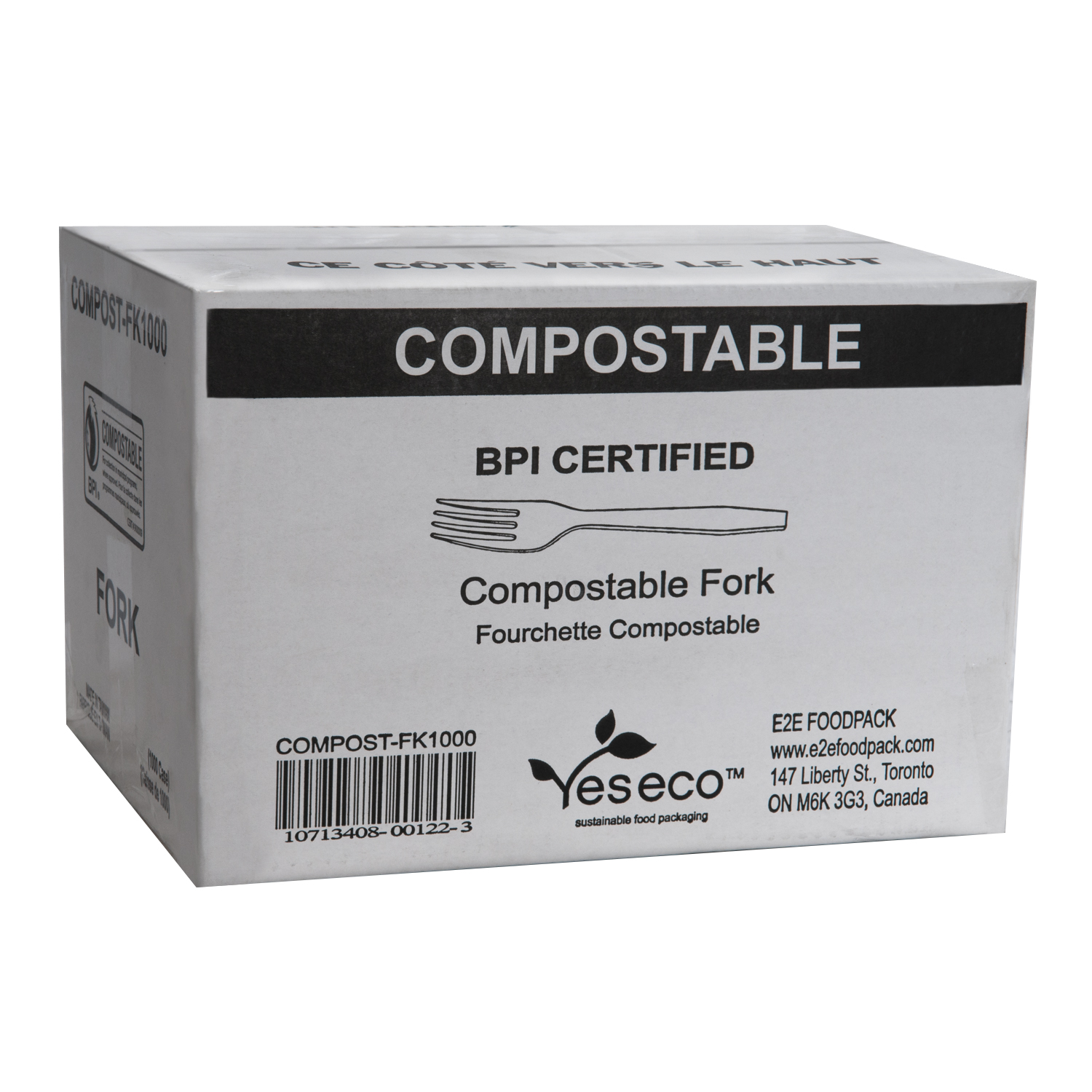 YesEco Sustainable and Compostable Cutlery