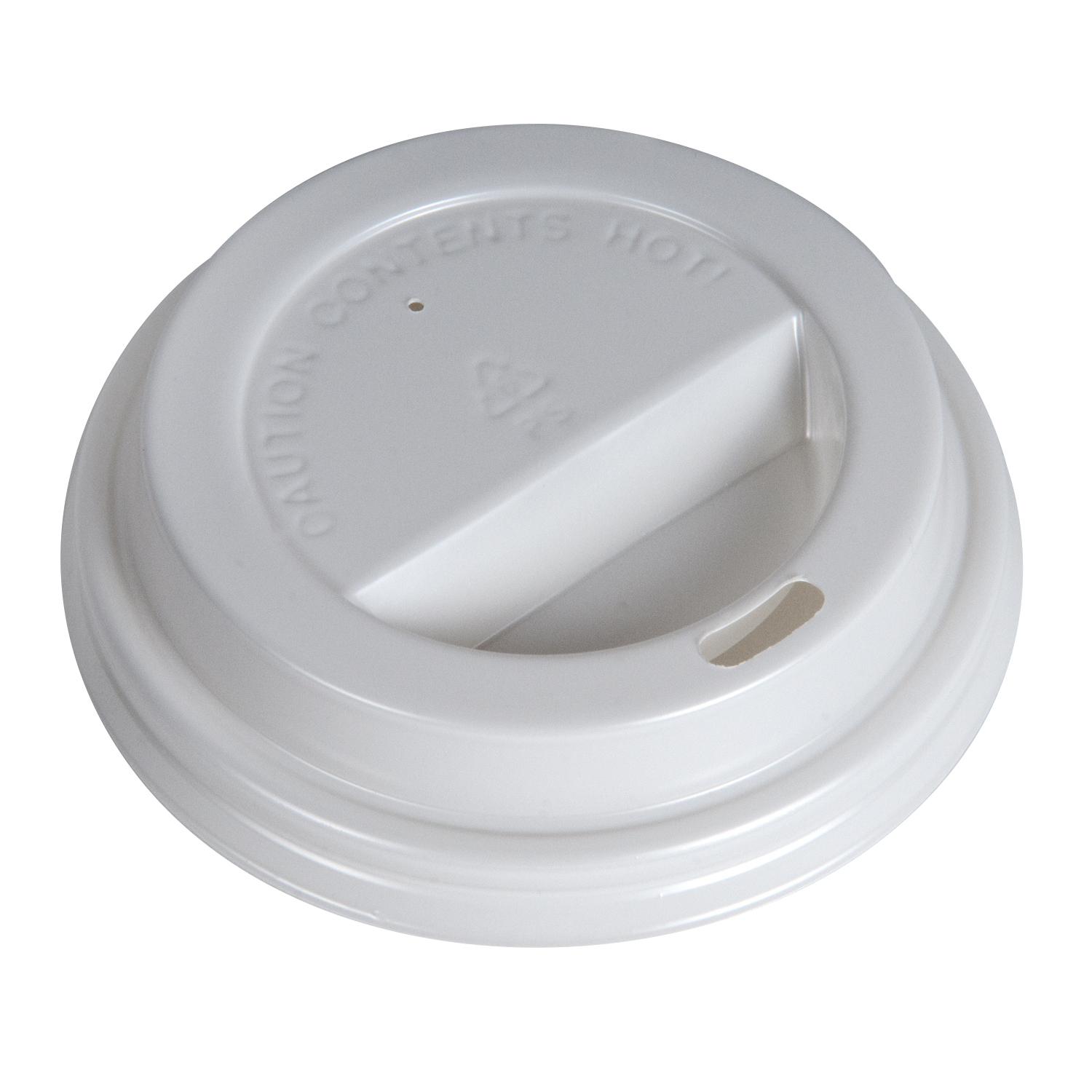 YesEco 80mm White Dome Lid