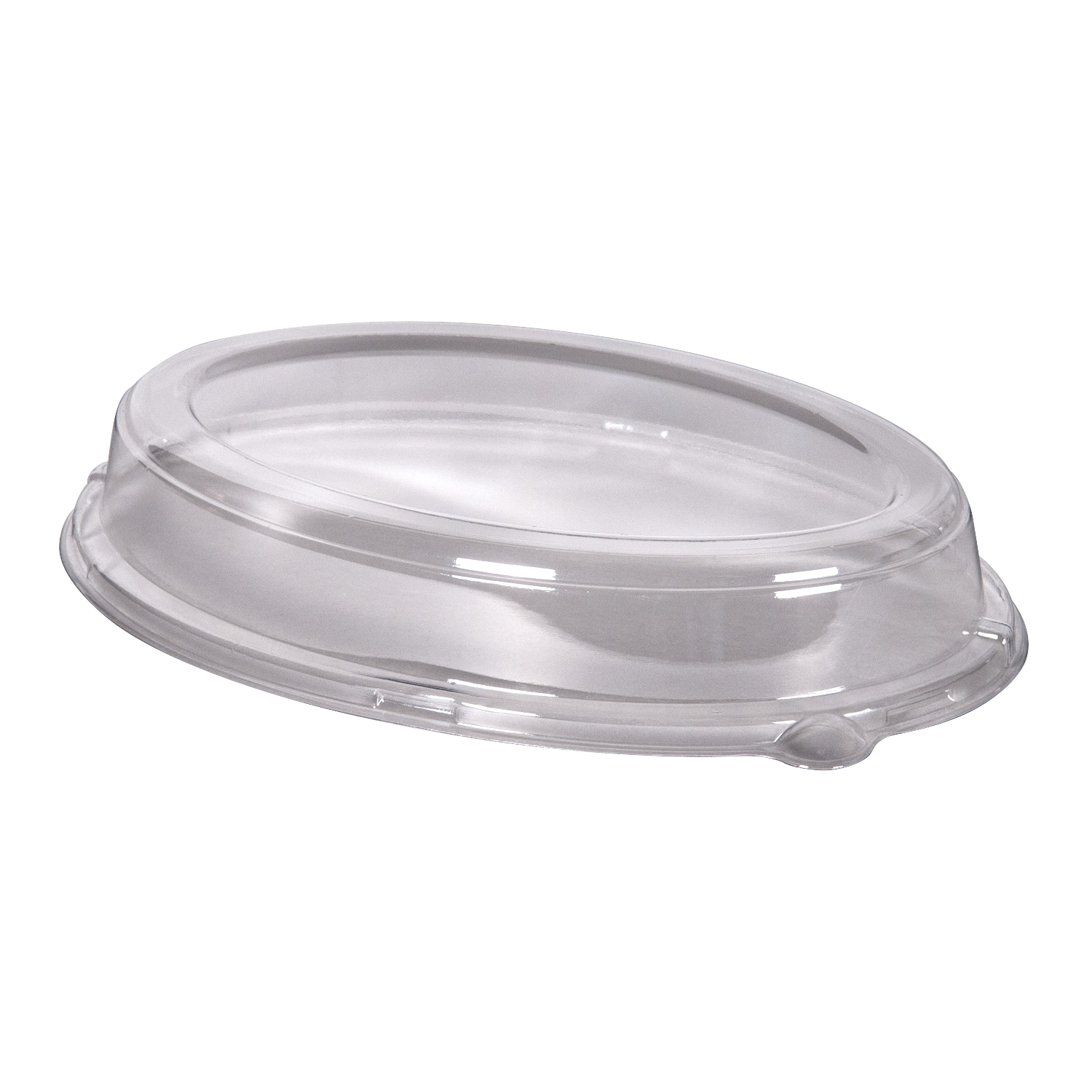 Oval Tray Lid PETE